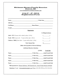 printable registration form template class registration form template word oyle kalakaari co