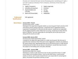 Sample Security Officer Resume Security Guard Resume Sample Fresh Examples Simple Resumes And