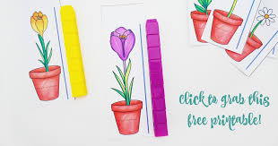 Height Chart For Kids Printable Free Flower Height Measurement Printable For Preschoolers