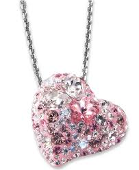 gallery previously sold at macy s women s swarovski crystal necklace