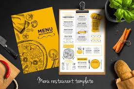 Menu Designs 50 Best Food Drink Menu Templates Design Shack