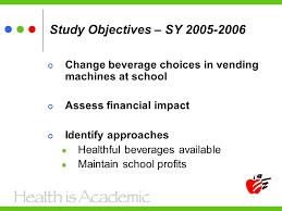 Vending Machine Profits In Schools Custom Assessing The Financial Impact Of Changing Beverage Vending Machine