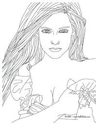 Famous People Coloring Pages Fashion Designer Beautiful Coloring