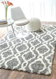 trellis soft and plush grey rug 4 feet 6 feet 4 with rugs usa groupon