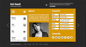 Wordpress Resume Template 20 Best Themes For Your Personal Website