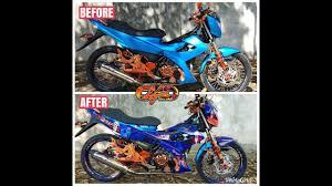 Decals Design For Raider 150 Suzuki Raider 150 Reborn The Joker Cotabato Mc Decals