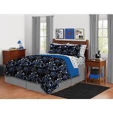 Skull Bedroom Curtains Latitude Graphic Skull Bed In A Bag Bedding Set Walmartcom