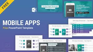 Presentation Template Powerpoint Mobile Apps Free Powerpoint Presentation Template Slidesalad