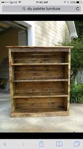 shelving made from pallets. I want to do this for my daughters room. Her  current TV stand is an old crate turned on its side with shelves added for  storage, ...