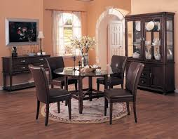 rug under dining table. Beautiful Image Of Dining Room Decoration With Rug Under Table : Interesting Picture