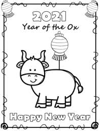 A4 and letter format, files in jpeg and pdf. Free Chinese New Year 2021 Coloring Sheets By The Love Of Coaching