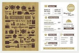 Free Menu Templates Download Restaurant Menu Templates Pages Christmas Template Helenamontana Info