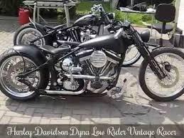 harley davidson dyna low rider vintage racer edelbrock engine