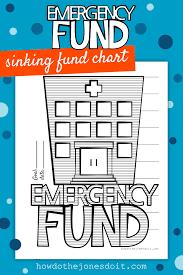 Emergency Fund Chart How Do The Jones Do It