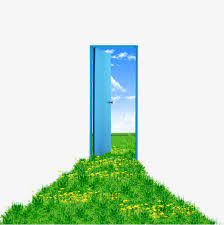blue front door png. Unique Front Creative Green Grass In Front Of The Door Grass Clipart Sky Blue PNG For Front Door Png