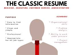 Resume Types Inspiration Resume Types A Visual Guide