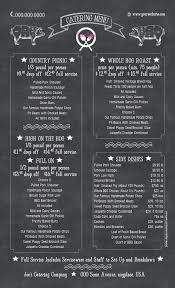 Catering Menu Templates Free Catering Menu Template 36 Free Psd Eps Documents Download
