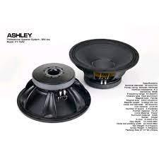 Up to 20% Subwoofer Ashley 15 inch F1-15AZ Kekuatan 900 - 1800 watt Mid Low  Terlaris
