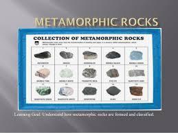 Metamorphic Rock Chart Metamorphic Rocks Process Of Formation 2014