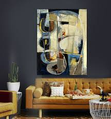 cheap office wall art. Modern Abstract Blue Yellow Color Table Living Room Bedroom Office Canvas Wall Art,High Quality Art Method,China Print Suppliers, Cheap I