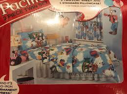 Fancy Flyers Disney 3 Piece Twin Sheet Set Pacific Fancy Flyers Mickey Minnie Donald