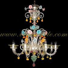 murano glass chandelier san bartolomeo
