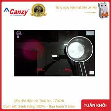 Bếp điện từ Canzy CZ E89 Nhập khẩu nguyên chiếc Malaysia - Invecter tích  kiệm điện