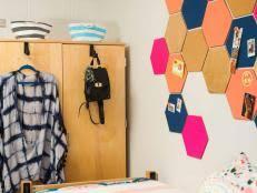 diy dorm room decor decorating ideas hgtv