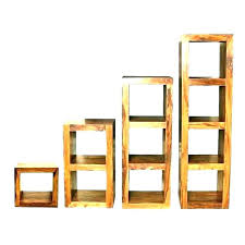 bookcases wooden bookcase unfinished real wood bookcases solid cube shelf shelves