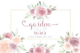23 different stock platforms from around the world are in one place! Watercolor Flowers Bouquets With Frames 1033064 Illustrations Design Bundles