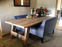How To Make A Dining Room Table From Reclaimed Wood - Dining room tables reclaimed wood