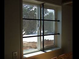 diy window security bars