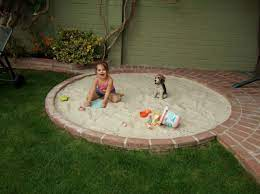 Pin By Sarah Fix On For The Home Backyard Play Sand Pit Build A Sandbox