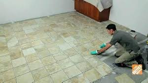 removing vinyl floor tiles removing vinyl flooring how to remove l and stick tile from concrete