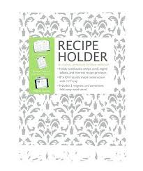 recipe holders white magnetic metal recipe holder finds recipe book holder target australia