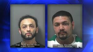 year old stabbed in hanford arrested wanted com suspects roger silva left and gabriel sanchez right