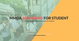Summer Jobs Mmda Summer Jobs Opening For Students At Minimum Wage Of