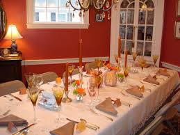 ... Marvelous Dining Room Designs With Simple Thanksgiving Table : Alluring  Design Ideas Using White Desk Lamps ...