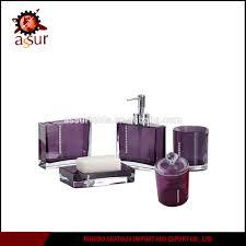 Purple Bathroom Accessories Set Purple Bathroom Accessories Set Purple Bathroom Accessories Set