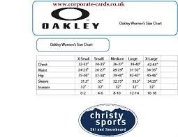 Oakley Boot Size Chart Bedowntowndaytona Com