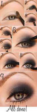 smokey eyes picture tutorial transforming your eyes from simple