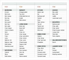 house move inventory checklist in excel moving box list template moving box inventory list template