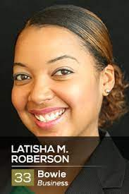 Latisha M. Roberson — Prince George's County Social Innovation Fund