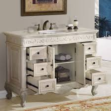 bathroom single sink vanity cabinet. 48\u201d ella - bathroom vanity single sink cabinet
