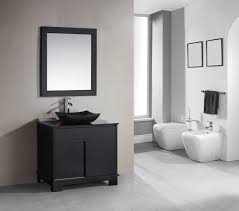 modern white bathroom cabinets. 36 Inch Single Sink Espresso Bathroom Vanity Set With LED Lighting Modern White Cabinets