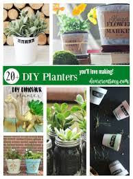 Diy Planters Diy Planters Fun And Easy Diys Just In Time For Earth Day