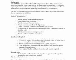 Cover Letter Bank Teller Resume Description Unique Best Solutions