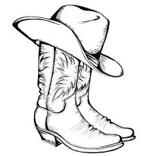 western coloring pages. Perfect Pages Western Coloring Pages Printable Boots To Print Cowboy Boot  Page Free Intended Western Coloring Pages N