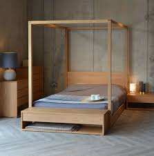 four poster bedroom furniture. cube 4 poster bed and the collection of black lotus bedroom furniture in solid oak four
