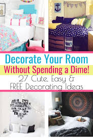 how to decorate your room without